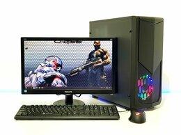 Настольные компьютеры - Игровой пк AMD A8-6600K + GT 730 2Gb + Монитор, 0