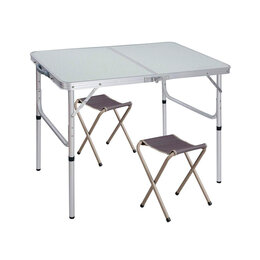 Походная мебель - Складной стол с 2 стульями для кемпинга, 0