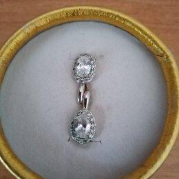 Серьги - серебряные серёжки , 0