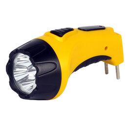 Фонари - Фонарь Smartbuy SBF-84-Y, аккумуляторный, светодиодный, 4 LED, прямая зарядка..., 0