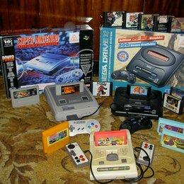 Игровые приставки - Игровые приставки Sega и Денди 16 8 бит, 0