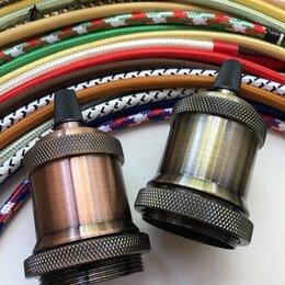 Электроустановочные изделия - Винтажные патроны в стиле ретро, лофт, 0