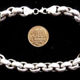 Браслеты - Серебряный браслет Chopard(Ролло).Вес 21 грамм,длина 21,5 см, 0