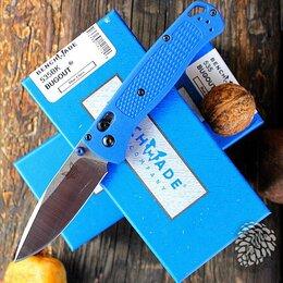 Ножи и мультитулы - Нож складной BENCHMADE BUGOUT 535ВК Blue…, 0