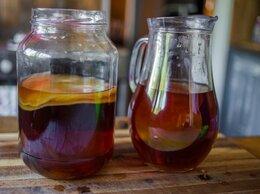 Ингредиенты для приготовления напитков - Чайный гриб Комбуча. Напиток., 0