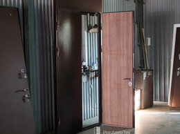 Входные двери - Тамбурная входная дверь металлическая под…, 0