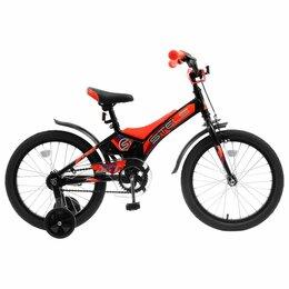 """Велосипеды - Велосипед Stels Jet 18"""" Z010/черный-оранжевый, 0"""
