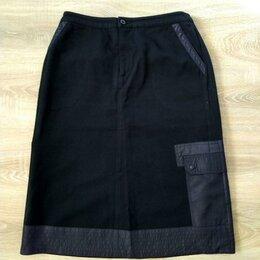 Юбки - Черная юбка 46 р-ра, 0