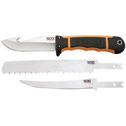 Ножи и мультитулы - Нож SOG Exchange HT201N (со сменными клинками), 0