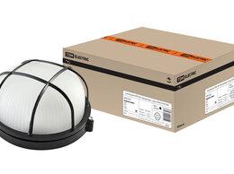 Настенно-потолочные светильники - Светильник НПБ1302 черный/круг с реш. 60Вт IP54…, 0