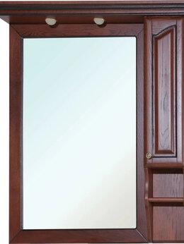 Зеркала - Зеркало-шкаф из массива дуба Bellezza Рим 100 R…, 0