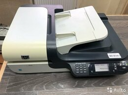 Сканеры - Планшетный сетевой сканер HP Scanjet N6350, 0