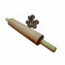 Скалки - Скалка деревянная размер, 0