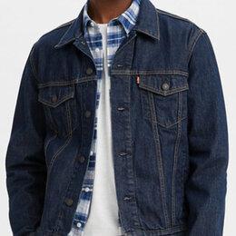 Куртки - Новая мужская джинсовая куртка Levis Trucker Jacket Style # 72334-0557 size M, 0