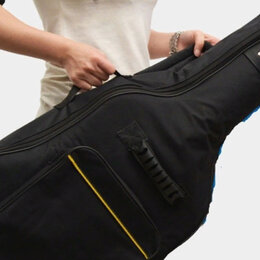 Аксессуары и комплектующие для гитар - новый утепленный чехол для акустической гитары, 0