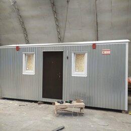 Готовые строения - Бытовка 6х2,4 м. утеплённая , 0