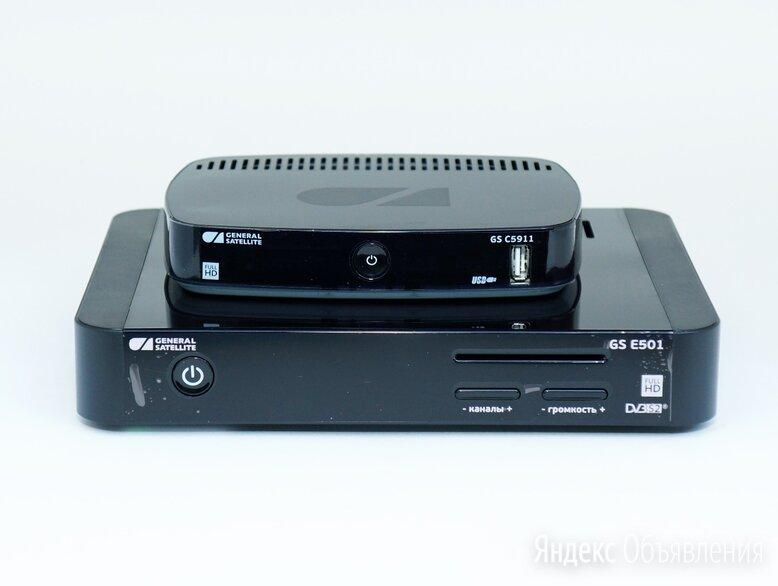 Ресивер GS E501 и приставку GS С591, 5911 продаю, меняю по цене 1000₽ - Спутниковое телевидение, фото 0