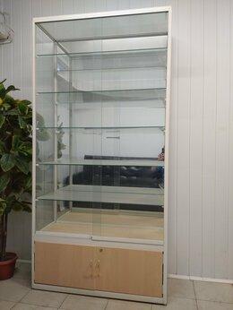 Витрины - Стеклянная витрина стеллаж, 0