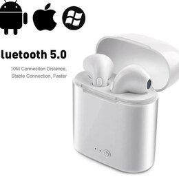Наушники и Bluetooth-гарнитуры - Bluetooth наушники i7Tws с микрофоном, 0