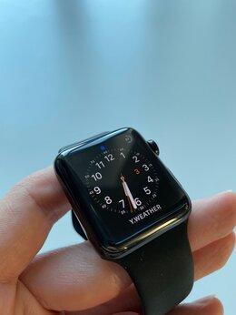 Умные часы и браслеты - Apple Watch 2 42mm, Stainless Steel, Sapphire…, 0
