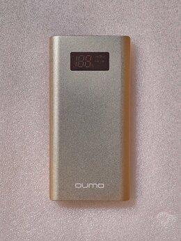 Универсальные внешние аккумуляторы - Повербанк QUMO PowerAid P10000 (V2 QC/PD), 0