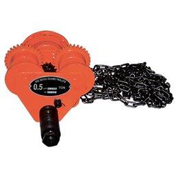 Грузоподъемное оборудование - Каретка для тали, передвижная, грузоподъемность 3 т// Matrix, 0