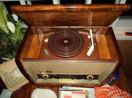 """Проигрыватели виниловых дисков - РАДИОЛА """"SAKTA""""1960г(раритет) + 68…, 0"""
