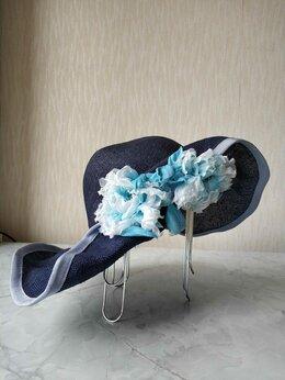 Головные уборы - Шляпа ручной работы Синяя шляпа, 0