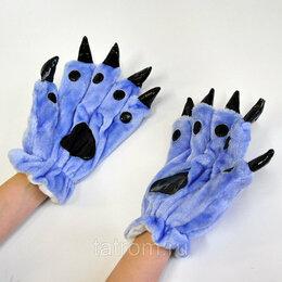 Кигуруми - Перчатки для кигуруми голубые, 0