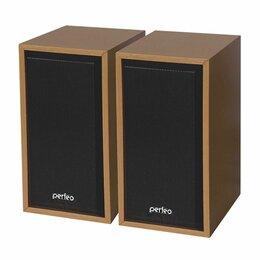 Компьютерная акустика - Колонки компьютерные PERFEO Cabinet коричневый, 0