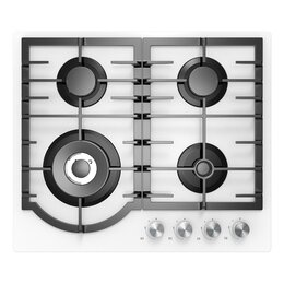 Плиты и варочные панели - Варочная поверхность Midea MG 696 TGW, 0