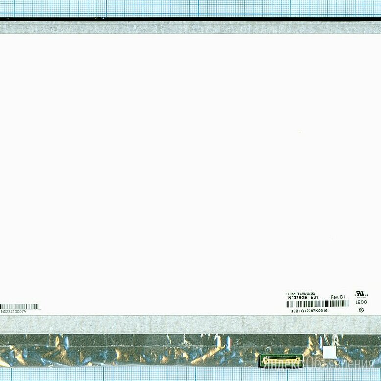 Матрица N133BGE-E31 крепления верх/низ, Диагональ 13.3, 1366x768 (HD), CMO-Innol по цене 3490₽ - Мониторы, фото 0