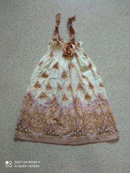 Платья и сарафаны - Сарафан летний на брителях, 4-6 лет, 0