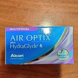 Приборы и аксессуары - Контактные линзы AIR optix plus HydraGlyde Multifo, 0