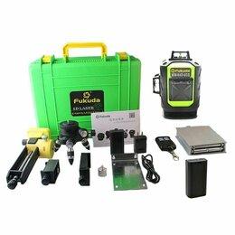 Измерительные инструменты и приборы - Лазерный уровень Fukuda 4D, 0