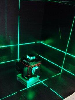 Измерительные инструменты и приборы - Лазерный уровень нивелир 4D 16 лучей, 0