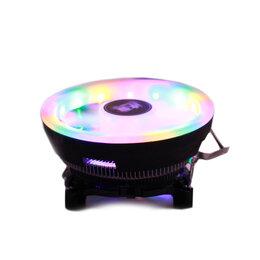 Кулеры и системы охлаждения - Кулер для процессора Snowman M105 с RGB подсветкой, 0