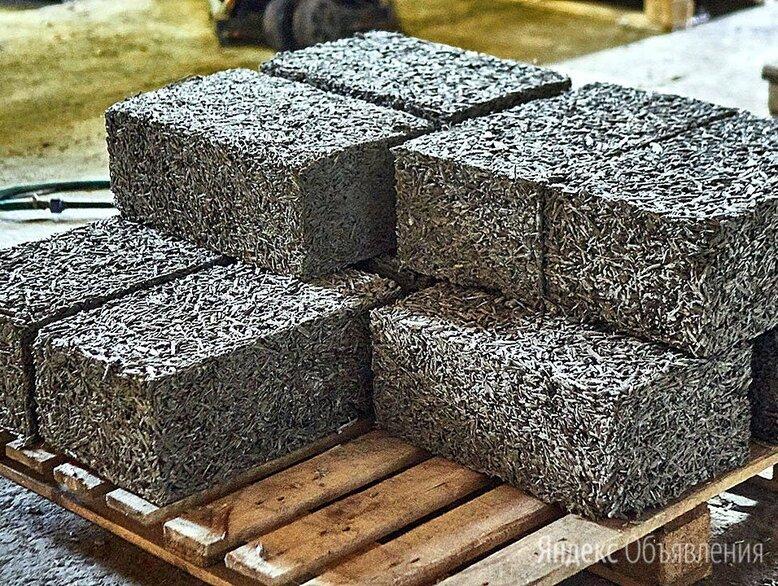 Арболитовые блоки 600х300х200 по цене 165₽ - Строительные блоки, фото 0