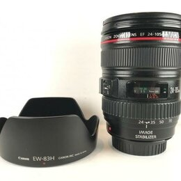 Объективы - Canon EF 24-105mm 4L IS USM (A312), 0