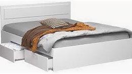 Кровати - Кровать с ящиками для хранения белья, 0