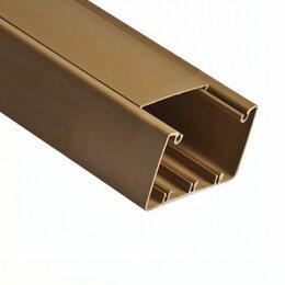 Товары для электромонтажа - Кабель-каналы Рувинил Кабель-канал 12х12мм (коричневый) Ruvinil 2м, 0