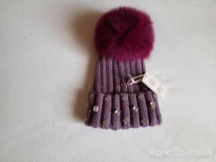 Шикарная шапка Regina р. VI, 53-55 см Италия по цене 7500₽ - Головные уборы, фото 0