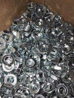 Шайбы и гайки - Гайка оцинкованная низкая DIN439 (кг), 0