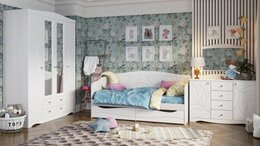 """Кровати - """"Спальня """"Флора"""" , 0"""