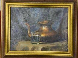 Картины, постеры, гобелены, панно - Картина Натюрморт советский художник Порфирий…, 0