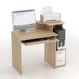 Компьютерные и письменные столы - Уценка!! Компьютерный стол КС-10 Колибри, 0