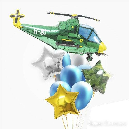 """Композиция """"Вертолет Милитари"""" по цене 2090₽ - Цветы, букеты, композиции, фото 0"""