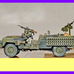 Сборные модели - 1/35 модель автомобиля Ленд-Ровер спецназа SAS Land Rover Desert Rats 1/35, 0