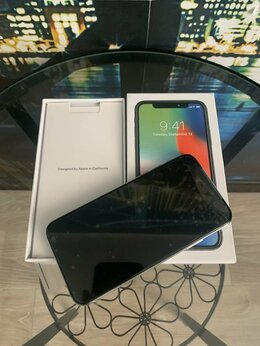 Мобильные телефоны - Iphone X 64GB white. Новый запечатанный в пленках, 0