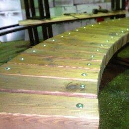 Скамейки - скамейка радиусная, 0